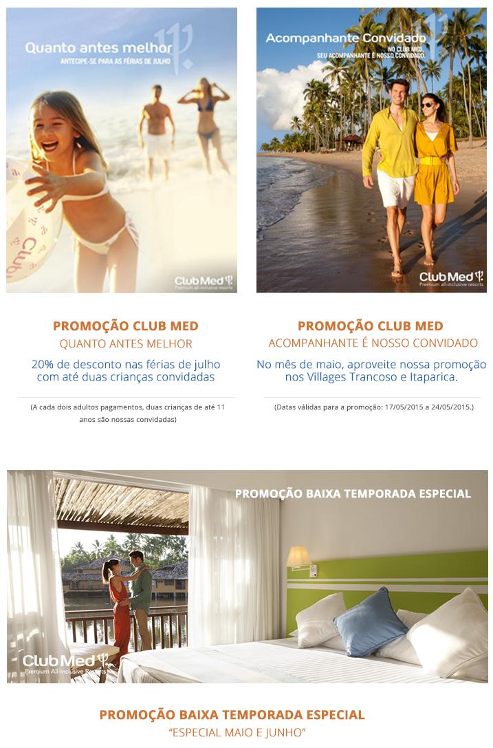 Club Med Promoções